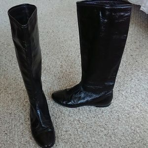 Sigerson Morrison Patent Leather knee High Boots